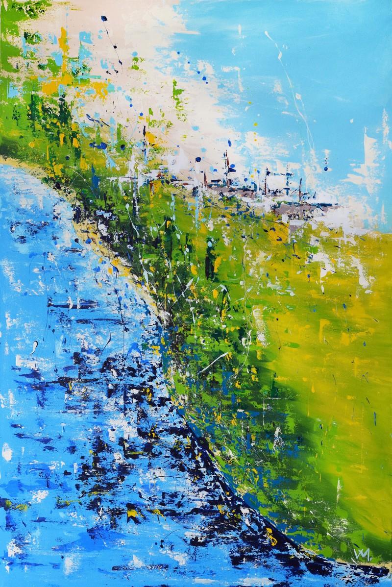 """Vilijos M. tapyba, paveikslas """"Atostogos"""""""