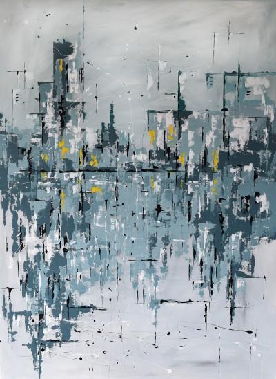 """Vilijos M. tapyba, paveikslas """"Aušra"""""""
