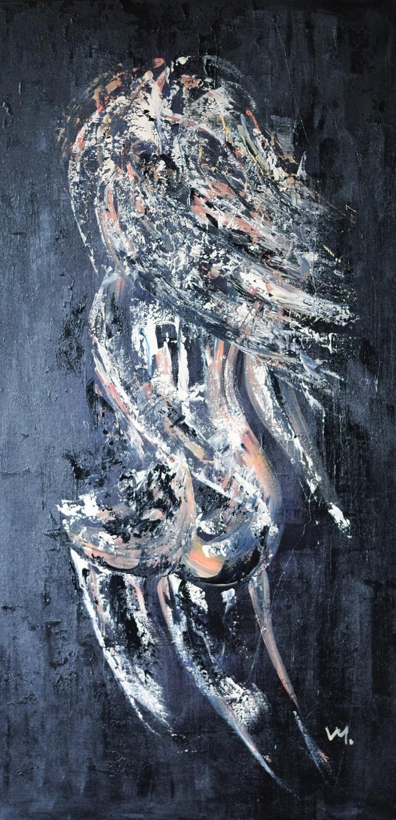 """Vilijos M. tapyba, paveikslas """"Grįžtanti"""""""