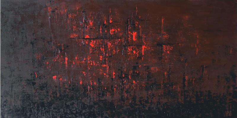 """Vilijos M. tapyba, paveikslas """"Honkongas"""""""