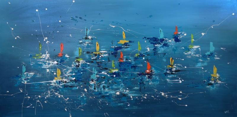 """Vilijos M. tapyba, paveikslas """"Įlanka"""""""