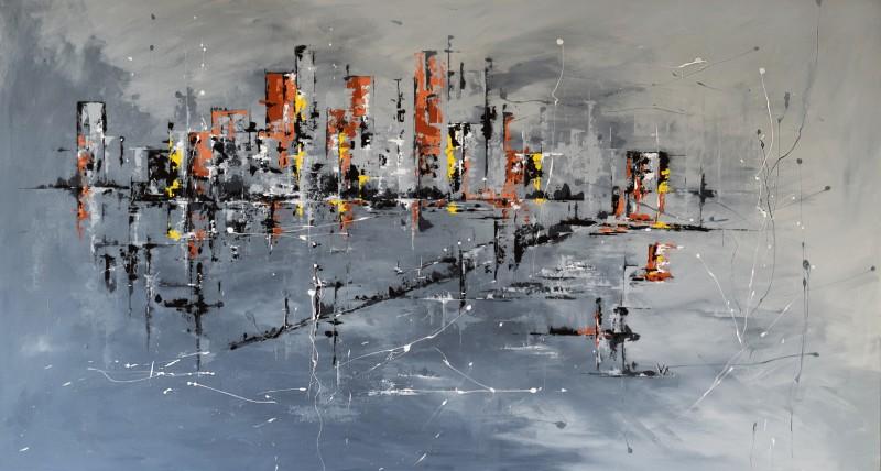 """Vilijos M. tapyba, paveikslas """"Laiko metafora"""""""