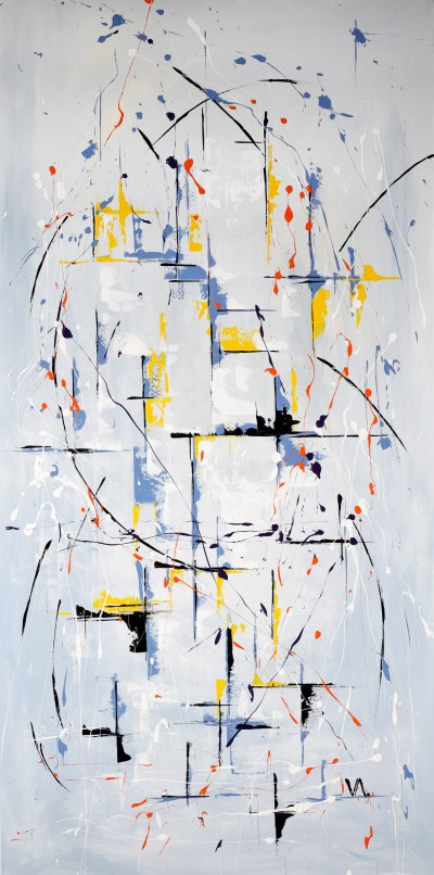 """Vilijos M. tapyba, paveikslas """"Laiškas"""""""