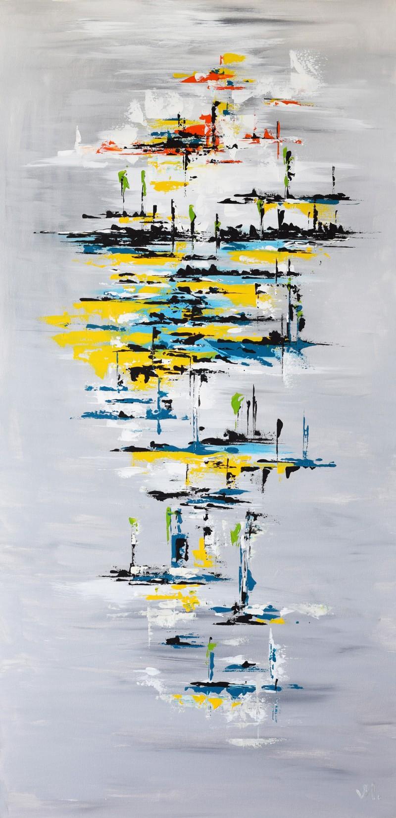 """Vilijos M. tapyba, paveikslas """"Liepų medus"""""""
