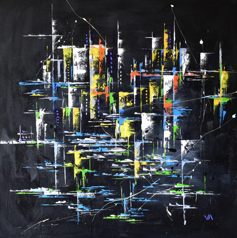 """Vilijos M. tapyba, paveikslas """"Nemiegantys"""""""