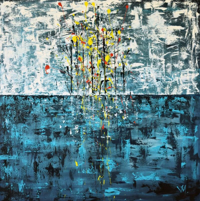 """Vilijos M. tapyba, paveikslas """"Neriba"""""""