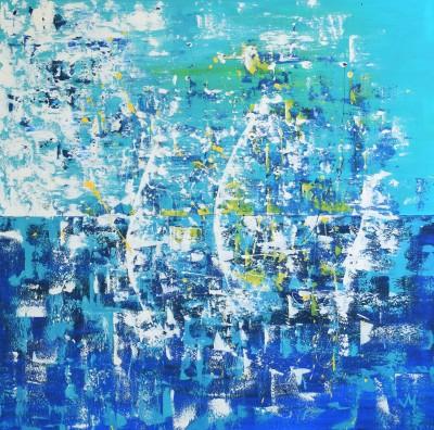 """Vilijos M. tapyba, paveikslas """"Neriba II"""""""