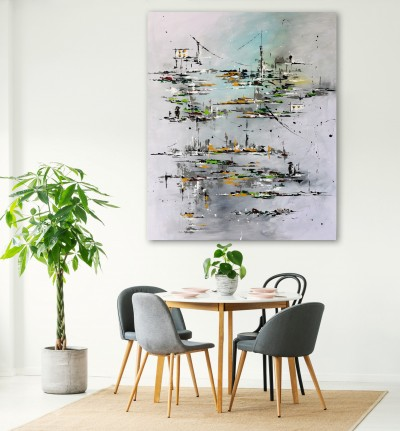 """Vilijos M. tapyba, paveikslas """"Draugystė"""""""