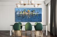 """Vilijos M. tapyba, paveikslas """"Lietuje"""""""