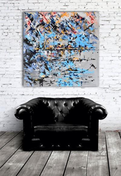 """Vilijos M. tapyba, paveikslas """"Gardos paukščiai"""""""