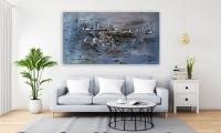 """Vilijos M. tapyba, paveikslas """"Miesto šerkšnas"""""""
