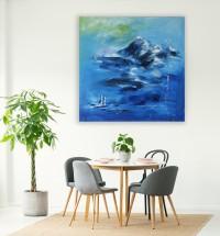 """Vilijos M. tapyba, paveikslas """"Mes"""""""