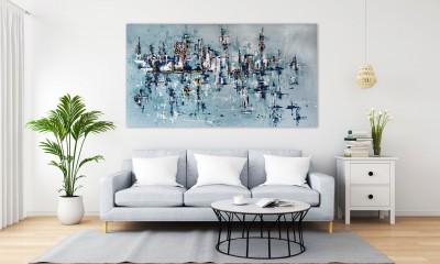 """Vilijos M. tapyba, paveikslas """"Mėnulio kanjone"""""""