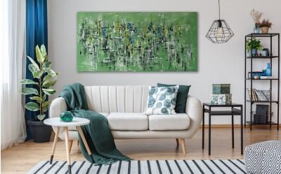 """Vilijos M. tapyba, paveikslas """"Miškasparniai"""""""