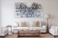 """Vilijos M. tapyba, paveikslas """"Po lietaus"""""""