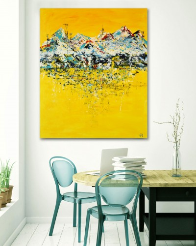 """Vilijos M. tapyba, paveikslas """"Ryšys iš Aliaskos"""""""