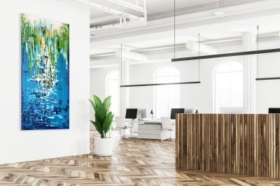 """Vilijos M. tapyba, paveikslas """"Duobulio istorijos"""""""
