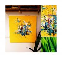 """Vilijos M. tapyba, paveikslas """"Vasara niekada nesibaigia"""""""