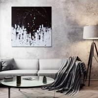 """Vilijos M. tapyba, paveikslas """"Tylos fejerverkai"""""""