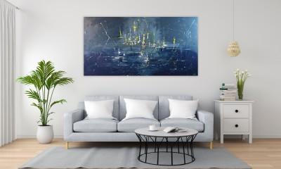 """Vilijos M. tapyba, paveikslas """"Ūkas"""""""