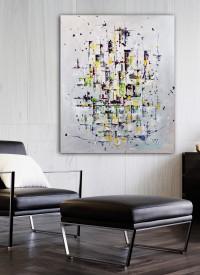 """Vilijos M. tapyba, paveikslas """"Pasaulio šokis"""""""