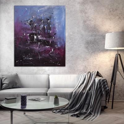"""Vilijos M. tapyba, paveikslas """"Paslaptys"""""""
