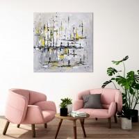 """Vilijos M. tapyba, paveikslas """"Nauja diena"""""""