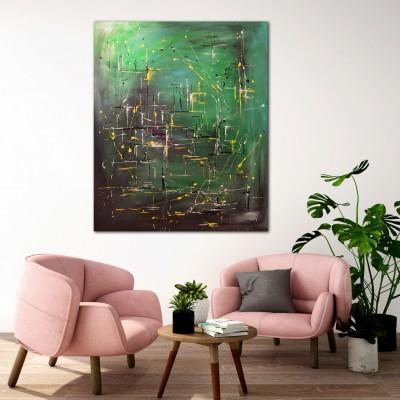 """Vilijos M. tapyba, paveikslas """"Saloje"""""""