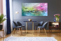"""Vilijos M. tapyba, paveikslas """"Pokalbis"""""""