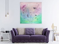 """Vilijos M. tapyba, paveikslas """"Šeima"""""""