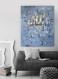 """Vilijos M. tapyba, paveikslas """"Seklių dienoraštis"""""""