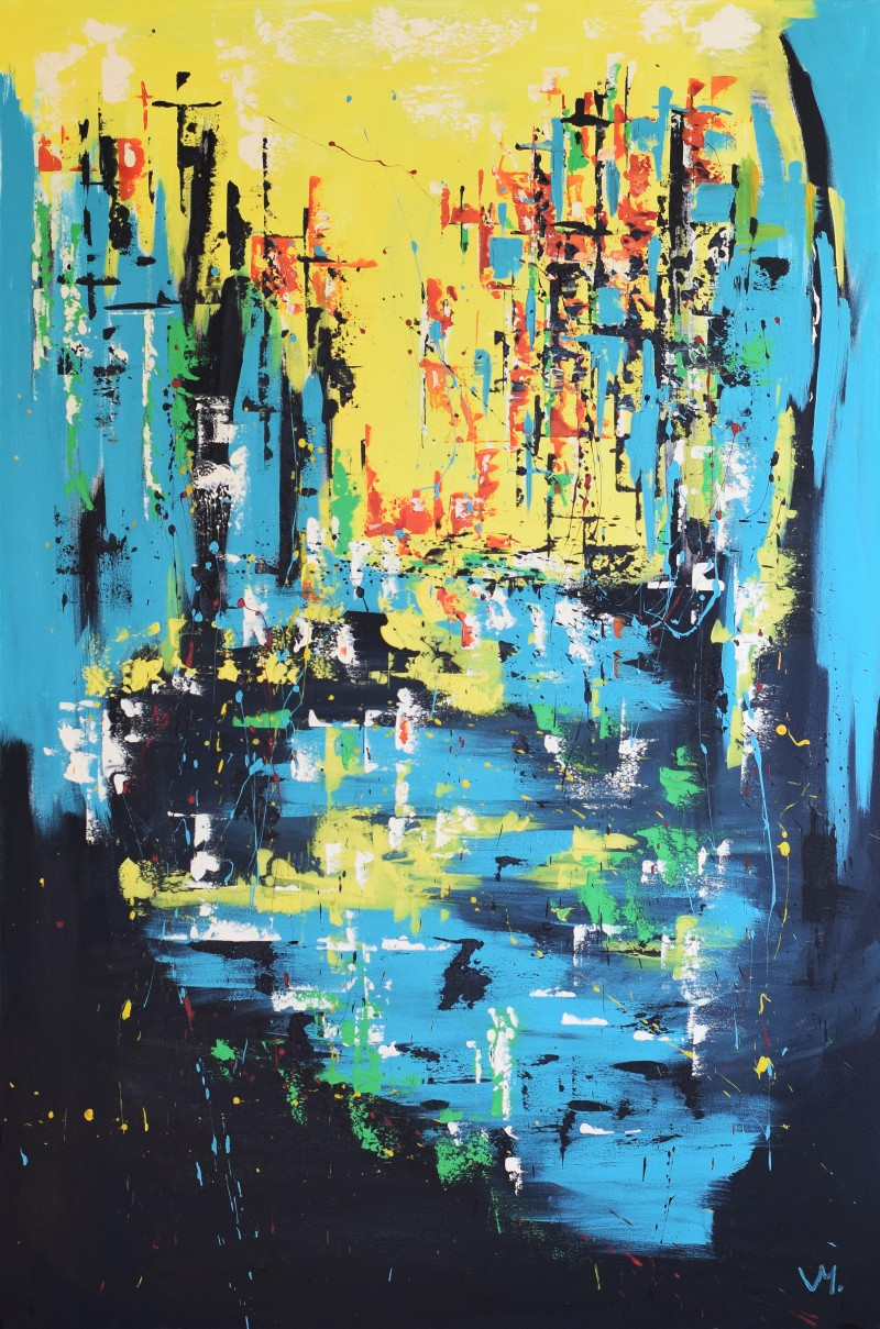 """Vilijos M. tapyba, paveikslas """"Paralelė"""""""