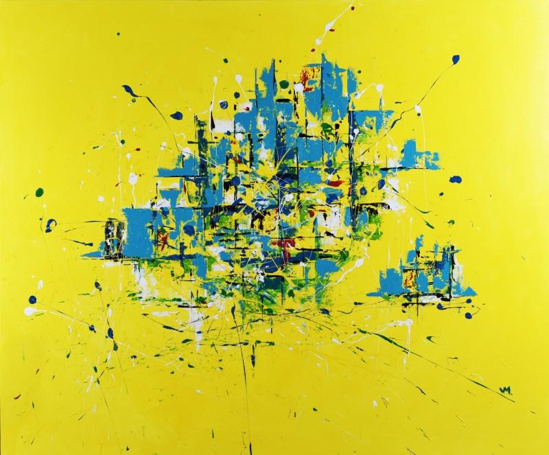 """Vilijos M. tapyba, paveikslas """"Paskutinis vasaros rytas"""""""