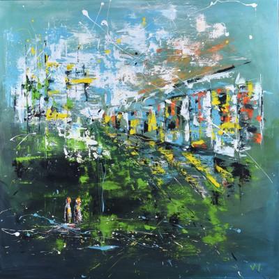 """Vilijos M. tapyba, paveikslas """"Praeitis"""""""