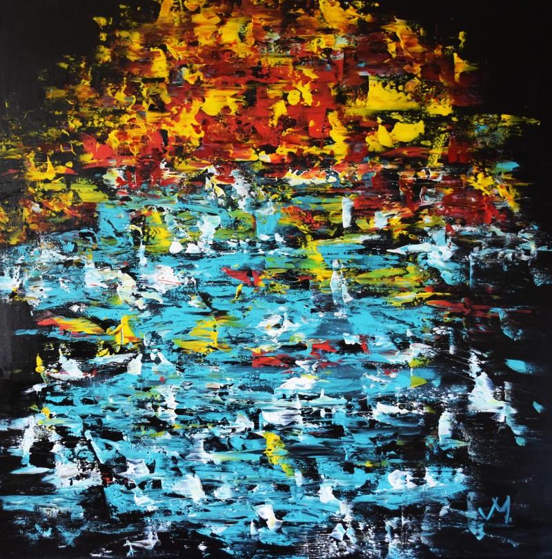 """Vilijos M. tapyba, paveikslas """"Rytas Azijoje"""""""