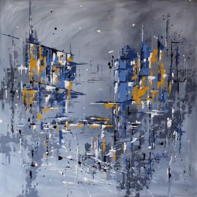 """Vilijos M. tapyba, paveikslas """"Šėlas"""""""