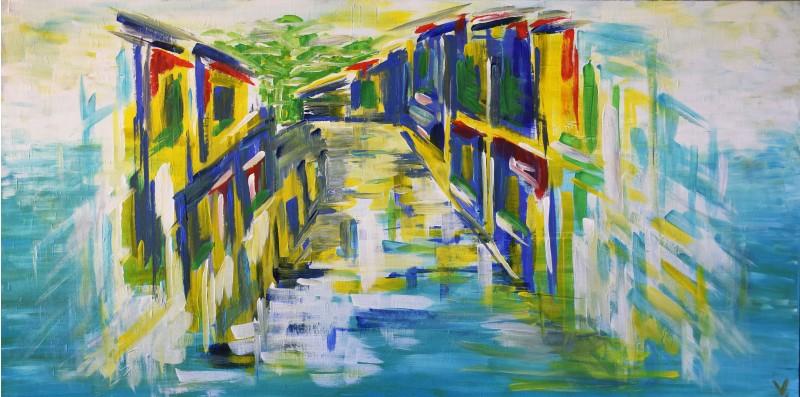 "Vilijos M. tapyba, paveikslas ""Skerstgatvis"""