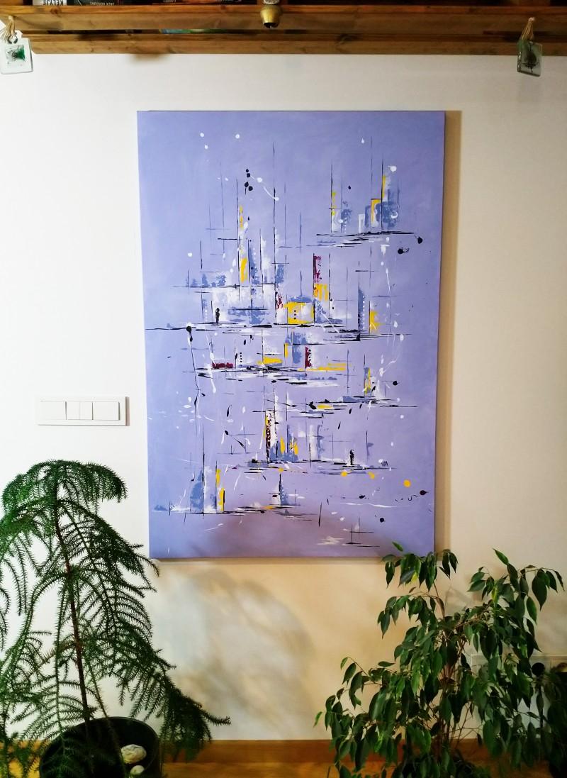"""Vilijos M. tapyba, paveikslas """"Švelnumas"""""""