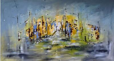 """Vilijos M. tapyba, paveikslas """"Šviesmetis"""""""