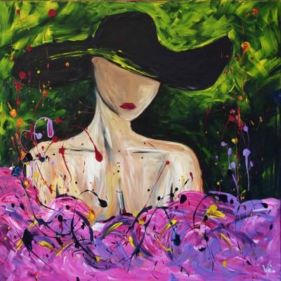 """Vilijos M. tapyba, paveikslas """"Tik Ji"""""""