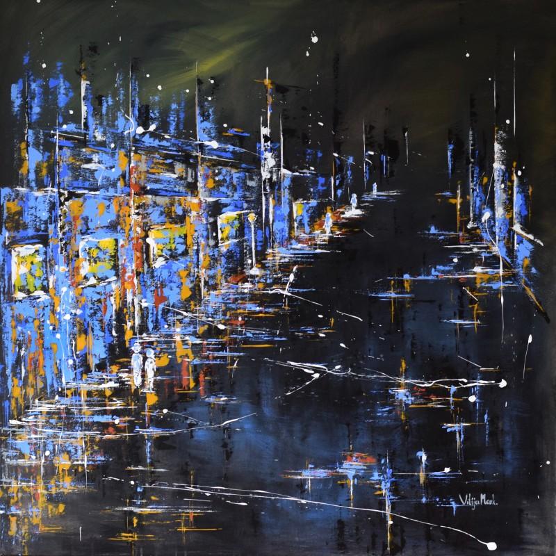 """Vilijos M. tapyba, paveikslas """"Vakaro reikalai"""""""