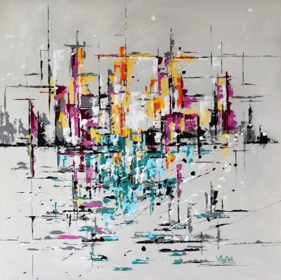 """Vilijos M. tapyba, paveikslas """"Venecija"""""""