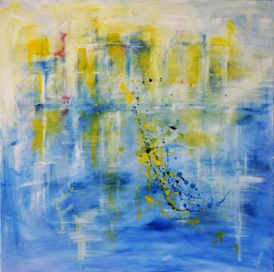 """Vilijos M. tapyba, paveikslas """"Jūros II"""""""